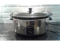 Morphy Richards large slow cooker