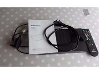 Grundig Freesat SD Box with all accesories