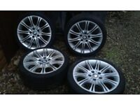 """bmw m3 alloy wheels and tyres 18 """""""