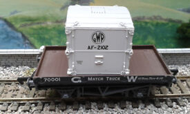 mainline GWR Matchtruck + container