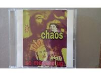Punk CDs chaos band 5for sell £4.00each