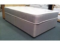 Can Deliver Today Brand New Double Bed+Memoryfoam Mattress Pay On delivery CReam Black