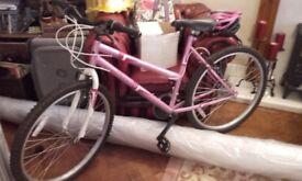 Ladies Dunlop Breeze All-terrain Bike