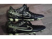 Nike football boots. size 7.