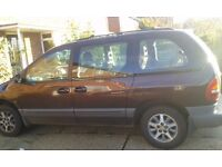 CHRYSLER VOYAGER 2.0 LE RELIABLE 7 SEATER FAMILY CAR LEATHER SEATS LONG MOT