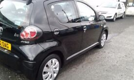 Toyota aygo 2012 very low mileage bargain!! Hpi clear