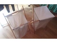 Foldable laundry Baskets