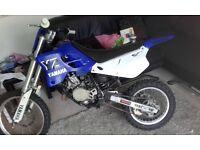 yamha yz80 bike swap for bigger bike or car......