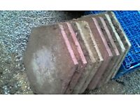 22 Hexagonal paving slabs different colours not needed anymore coll NN9