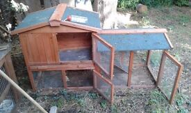 Rabbit hutches for sale, 3 different types