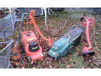Lawn Mowers and Strimmers