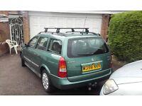 Vauxhall Astra Estate - towbar-roofrack-MOT Nov'16