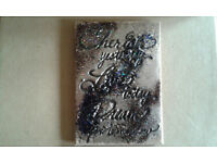 Fridge or office magnets INSPIRATIONAL created using heat enamelling on MDF