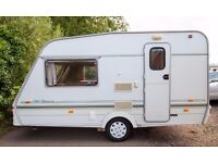 Swift Classic Silhouette '97 Lovely Dry 2 Berth Caravan With Motor Mover Awnings & Lots More