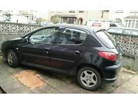 Peugeot 206 1.4 HDi S 5 Dr 2004 (spare or repair)
