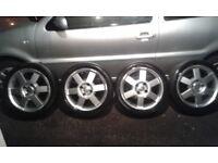 Four stud ford alloys 16 inch