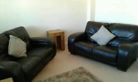 Leather Sofa X 2