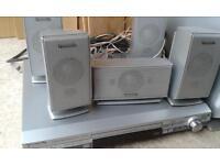 Panasonic DVD Home Cinema 6 speakers