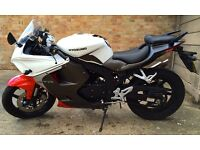 2015 Hyosung GT 125 RC GT125RC GT125R White Low Mileage