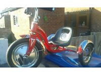 SCHWINN CHILDS TRIKE IN RED AND CROHME