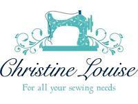 Christine Louise: Sewing and Seamstress, Clothing Alterations, Sewing Classes and Workshops