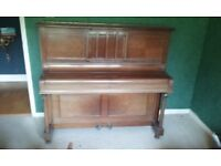 Upright piano, Alfred Phillips & Sons. 1930's good working order but needs tuning.