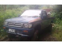 4x4 pickup wanted (l200, b2500, ranger, navara, hilux etc) diesel 4wd