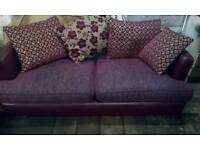 Sofa settee 4 and a 3 seater