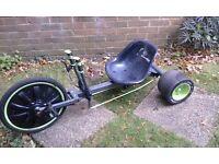 Huffy drift bicycle trike big wheel 20inch