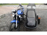 Kawasaki ER5 and Sidecar, great learner outfit or winter ride