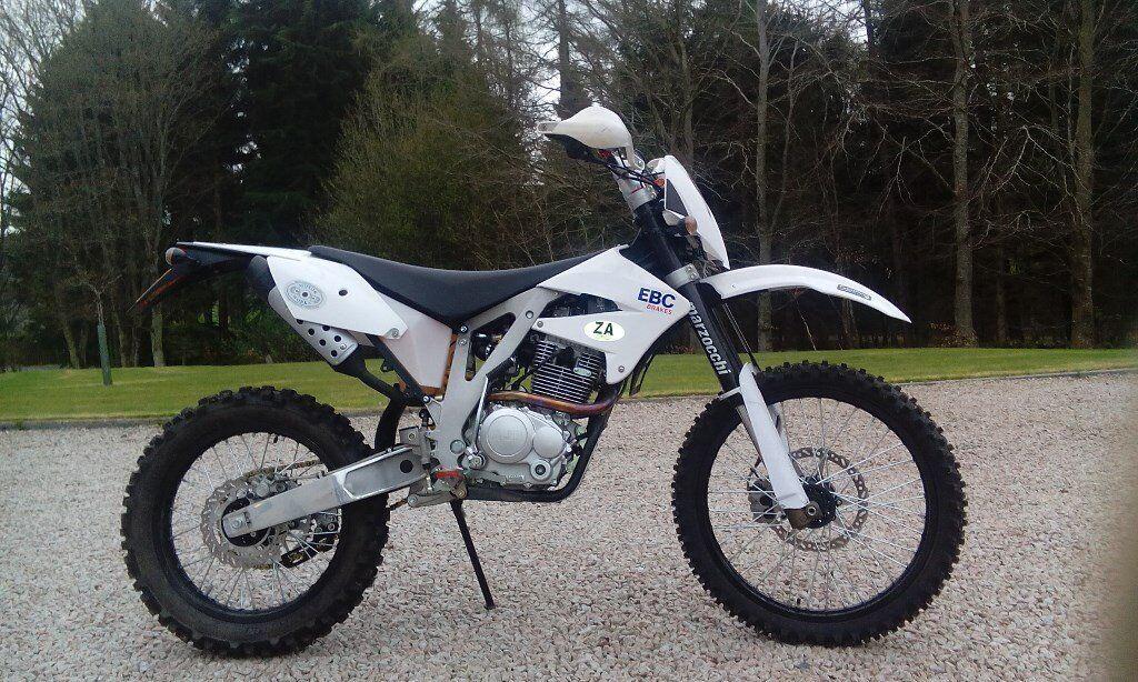 Motorcycle Ajp 240 Pr4 Offroad Trail Bike Road Legal In