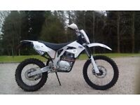 motorcycle AJP 240 PR4 offroad trail bike (road legal)
