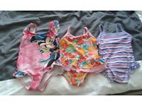 Girls swimming costumes to 3 years old