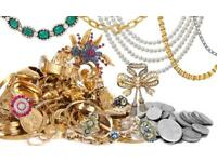 WANTED: Jewellery, coins and Collectibles