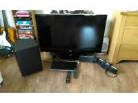 "42"" LG Plasma TV with HTS"