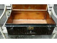 ARMY METAL BOX (PRICE CUT) MILITARY OUT FITTERS .
