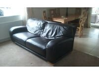 2+3 seater leather settes for sale