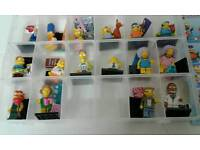 Lego Simpson's series 2 Full set of 16 nothing missing.
