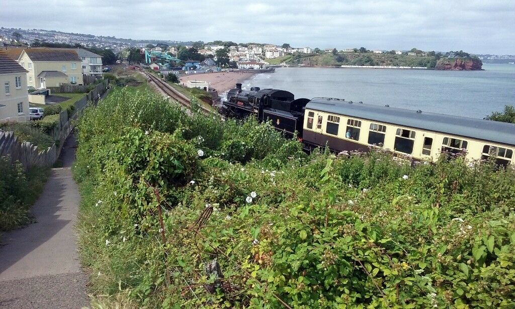 Plan a long summer seaside break at Goodrington Beach Devon UK Fully Furnished in Idyllic Location
