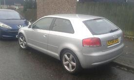 Audi A3 2006 1.9 TDI sport 3 door silver £2375.00 ONO