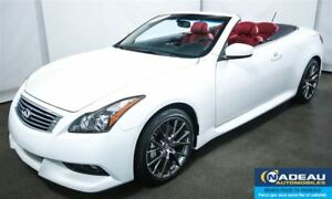 2013 Infiniti G37 IPL  w/Red Interior  NAVIGATION