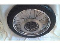 Suzuki GN250 front wheel