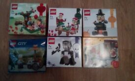 Lego various sets. Brand new and unopened.