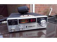 FIDELITY 1000 CD RADIO WITH MICROPHONE GWO