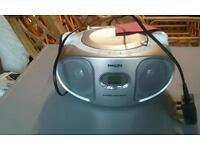 Philips radio and DVD player
