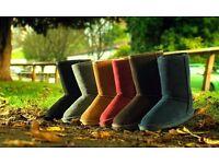 53 Pairs of Merino Wool Ladies Suede Boots