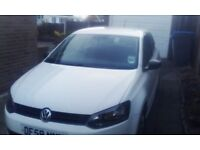 Volkswagen Polo 2010 plate less than 30,000 miles