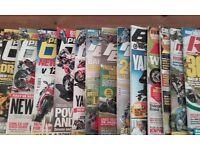 80quids worth of motorbike magazines