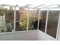 Greenhouse leanto