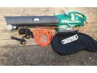 Draper Garden Vacuum/Blower/Mulcher 2200w/240v Had very little use.